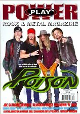 Power Play Rock & Metal Magazine December/January 2018 POISON