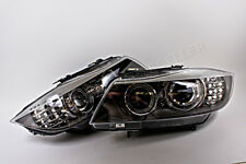 BMW 3 Series E90 E91 2008-2011 Facelift Bi Xenon Headlights Front Lamps PAIR OEM