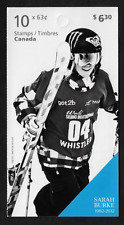 Canada - Booklet - Pioneers of Winter Sports: Sarah Burke #2707a (BK574) - MNH
