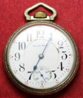 1919 South Bend Grade 219 16s 19j Pocket Watch - OF Case  - Parts/Repair