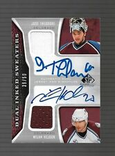 2006-07 SP Game Used Jose Theodore And Milan Hejduk Dual Auto Jersey #39/50