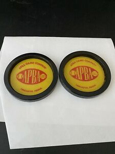 APBA Game Co. Coasters, set of 2 (70's?)