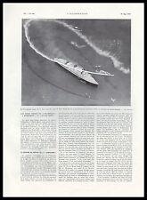 Document Anc. LE QUEEN MARY PAQUEBOT OCEAN LINER  DESIGN ART DECO  1936 - 2H