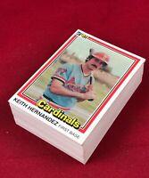 Lot of 75 Cards 1981 Donruss Keith Hernadenz  Baseball Card # 67  RG1