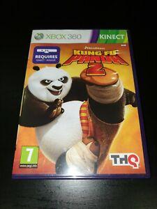 Kung Fu Panda 2 Microsoft Xbox 360 Kinect Kids Game, VGC, 1st Class Post