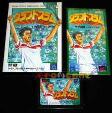GRAND SLAM TENNIS MegaDrive Md Mega Drive Versione Giapponese NTSC •••• COMPLETO