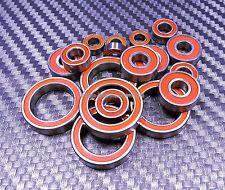 (ORANGE) TAMIYA M-03 / M-03M / M-03R / M03 Rubber Sealed Ball Bearing Bearings