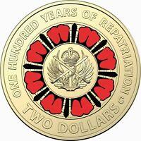 Australia 2019 $2 C Mint Mark Bring Them Home Repatriation Centennial Mint Card