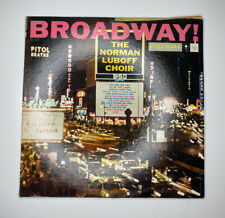 A Norman Luboff Choir Broadway Vinyl Columbia CL1110