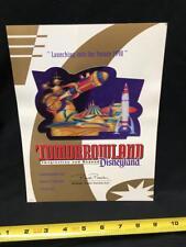 Disneyland: Tomorrowland Imagination and Beyond (Cast Members Souvenir) EMPLOYEE