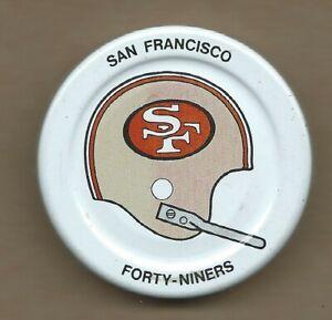San Francisco 49ers  Gatorade Bottle Cap Lid Early 1970s NFL Helmet