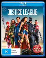 Justice League Blu-Ray : NEW