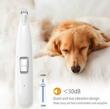 New listing Popetpop Pet Paw Hair Clipper Grooming Kit Rechargeable Dog Feet Hair Shaver Usa