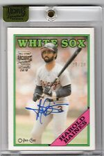 2016 Topps Archives Signature Harold Baines 88 O-Pee-Chee Auto Autograph #/23
