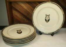 FITZ and FLOYD American Settings Collection Salad Dessert Plate LOT OF 6