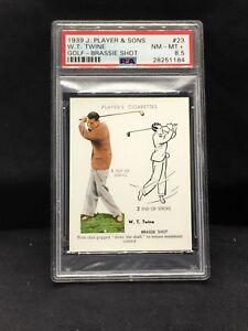 1939 John Player & Sons #23 WT Twine PSA 8.5
