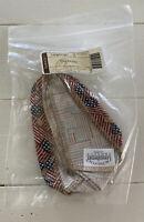 Longaberger CILANTRO Basket Fabric LINER OLD GLORY FLAG 20716140