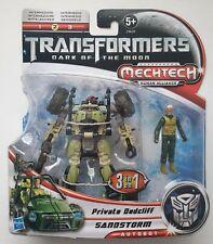 HASBRO® 29620 Transformers DARK OF THE MOON Mechtech Pvt. Dadcliff & Sandstorm