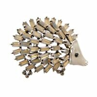Women Vintage Summer Hedgehog Porcupine Brooches Animal Pin Fashion Jewelry ~