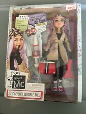 Project MC2 McKeyla's Invisible Ink Experiment Doll Purple Hair Rooted Lashes