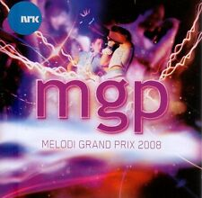 CD Norsk Melodi Grand Prix Norwegen MGP 2008 Eurovision Vorentscheid Norway