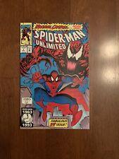 Spiderman Unlimited #1 (May, 1993 Marvel) 1st app. Shriek VF/NM Carnage Key
