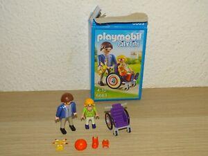 Playmobil 6663 Kind im Rollstuhl mit Papa