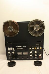 TANDBERG TD20A SE REEL TO REEL RECORDER WITH 2 REELS