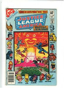 Justice League of America #208 VF 8.0 Newsstand DC Comics 1982 Power Girl