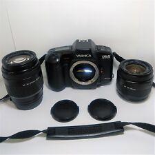 Yashica Kyocera 230-AF Super 35mm SLR Film Camera AF 28-70 + 70-210mm Macro Lens