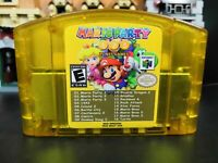 N64 18 in 1 game Card Mario Party 1 2 3 Aggregation +15 NEWS US Edition USA