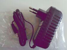 EU Plug AC/DC 12V 1.5A Power Supply Adapter 5.5mm x 2.1mm - (12 Piece Lot) - NEW