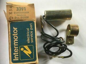 Condenser Intermotor 33910 Autobianchi A111 A112 Fiat X1/9 124 127 128 850 238