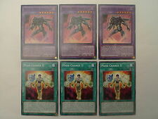 3 x Masked Hero Dark Law + Mask Change II * 6 Card SDHS Set * Yu-gi-oh