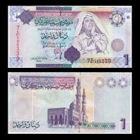 Libya, Lybien, 1 Dinar Banknote, ND(2009), P-71, UNC, Africa Paper Money
