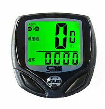 Odometer Digital Computer Bike Cycle Speedometer Wireless LCD Bicycle Waterproof