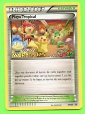 Spanish Tropical Beach BW50 - Near Mint Pokemon Worlds 2012 Promo
