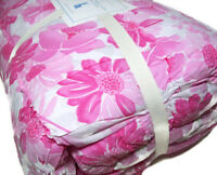 Pottery Barn Kids Pink Lillian Floral Flowers Motif Twin Quilt Brand New