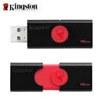 Kingston 16GB 32GB 64GB USB 3.1 DataTraveler Capless USB Flash Pen Drive DT106