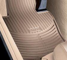 Genuine BMW Floor Mat All-Weather Front Set Rubber Beige OEM 82550151498