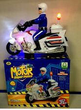 KIDS BUMP & GO POLICE MOTOR BIKE  BATTERY OPERATED Toy GREAT XMAS GIFT