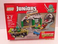 Lego 10669 TMNT Turtle Lair New Sealed