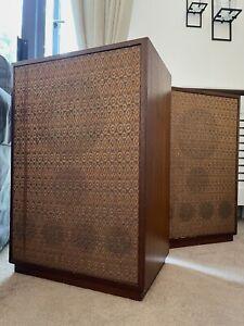 Rare vintage bespoke Goodmans Twin Axiom 10 speakers