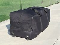 Luggage Bag Duffle Travel Moving Sport Hockey XL Rolls Wheel Durable LightWeight