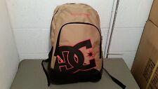 "NWT DC ""New Kid"" Black,Gold, Orangish Backpack Bookbag Retail $35.00"
