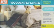 New listing Animal Planet Wooden Stairs, Steps, Ramp for Dogs, Cats, Pets (up to 60 lbs)