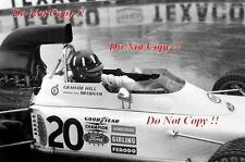 Graham Hill Brabham BT37 Grand Prix de Monaco 1972 Photo 4
