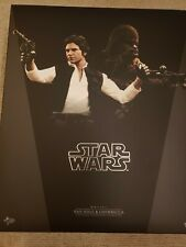 Hot Toys Star Wars Episode IV HAN SOLO & CHEWBACCA (MMS263) 1/6 scale used.