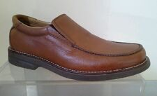 Size 6 tan leather slip ons by JONES Bootmakers  EU40