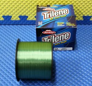 Berkley Trilene XT Extra Tough 14LB 3000YD Line Low-Vis Green XT3014-22 1003397